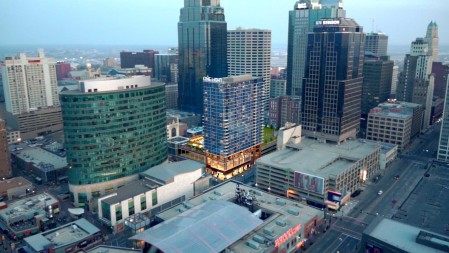DOWNTOWN KANSAS CITY, MO. RESIDENTIAL POPULATION ON THE RISE