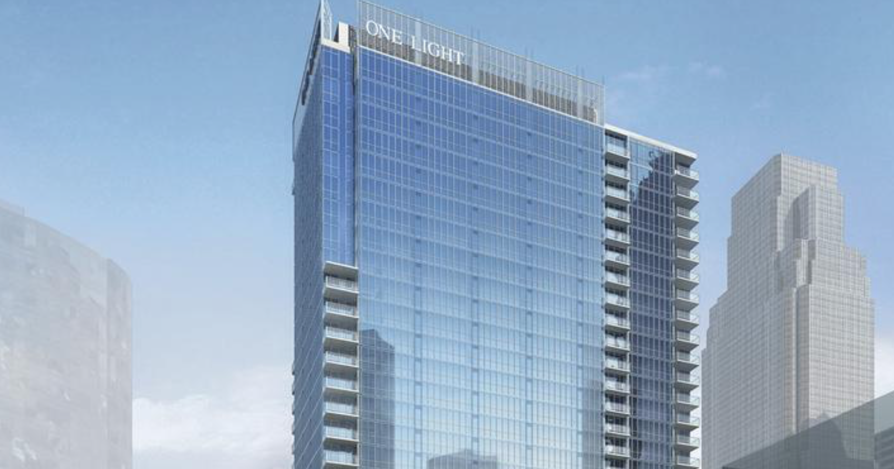 Work on Cordish's One Light Apartment Tower will begin in April
